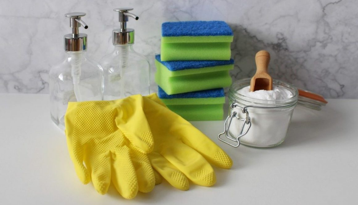 routine de nettoyage sans déchets