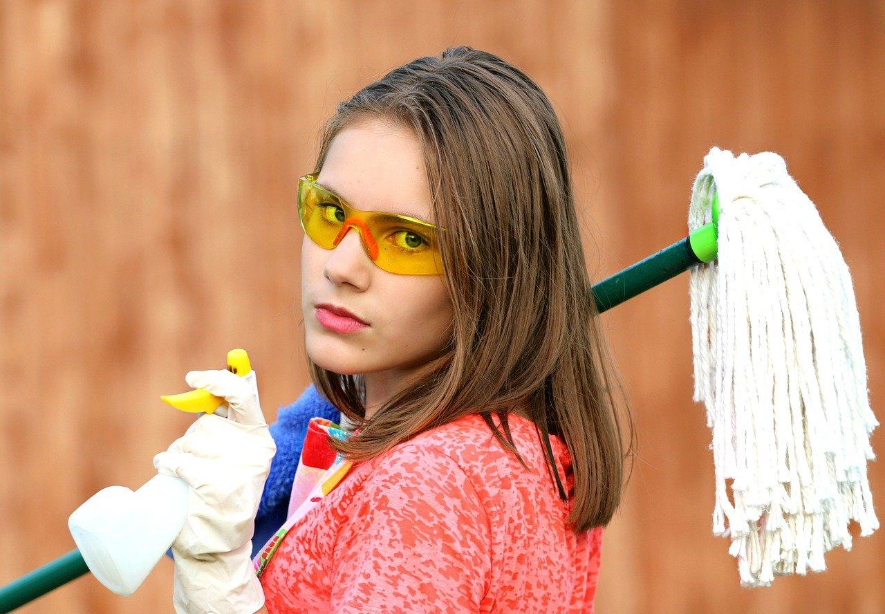 6 manières de faire du nettoyage quand on est paresseux